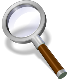 Search brown icon