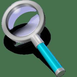 Search cyan icon