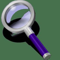 Search violett icon