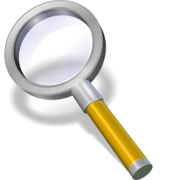 Search yellow icon