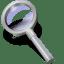 Search silver icon