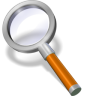 Search-orange icon