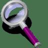 Search-purple-dark icon