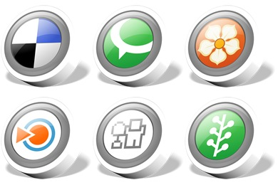 Webdev Social Bookmark Icons