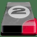 drive 3 br bay 2 icon