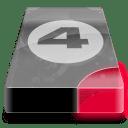 drive 3 br bay 4 icon