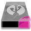 drive 3 pp external usb icon