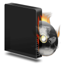 Cd-burner-burning icon