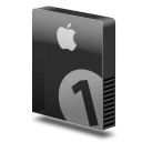 Drive slim bay 1 apple png icon