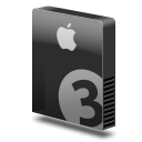Drive slim bay 3 apple icon