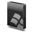 Drive slim dos icon