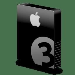 drive slim bay 3 apple icon