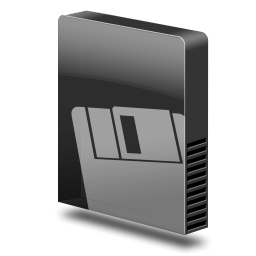 Drive slim external cartrid icon