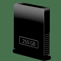 drive slim internal 250gb icon