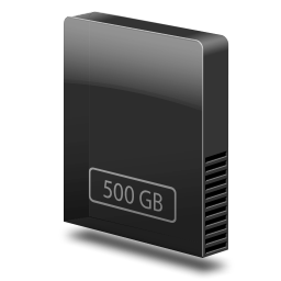 drive slim internal 500gb icon