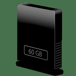 Drive slim internal 60gb icon