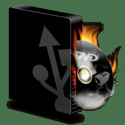 Dvd Burner Usb Burning Icon Icons 10 Bundle Iconset
