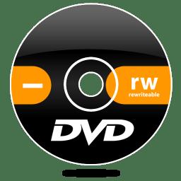 dvd minus rw icon