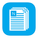 MetroUI-Apps-Notepad-Alt icon