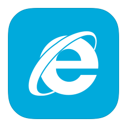 MetroUI Browser Internet Explorer Alt icon