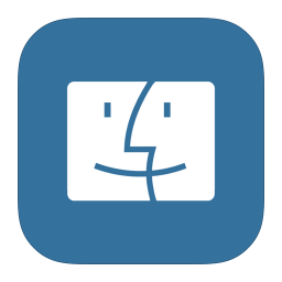 MetroUI Folder OS Mac Finder icon
