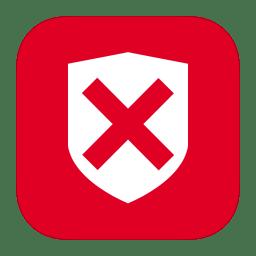MetroUI Folder OS Security Denied icon