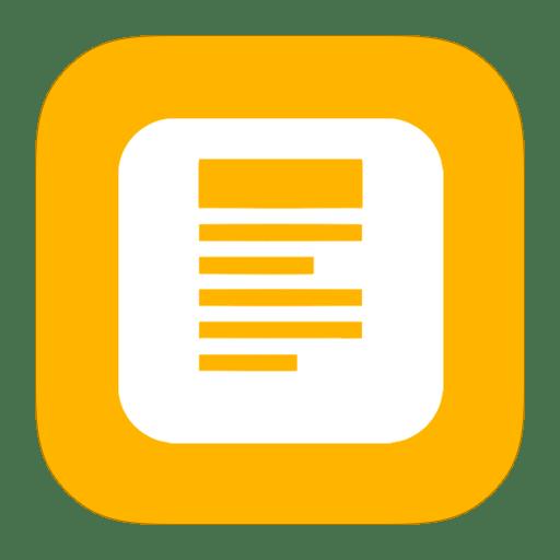 MetroUI Apps Koding icon