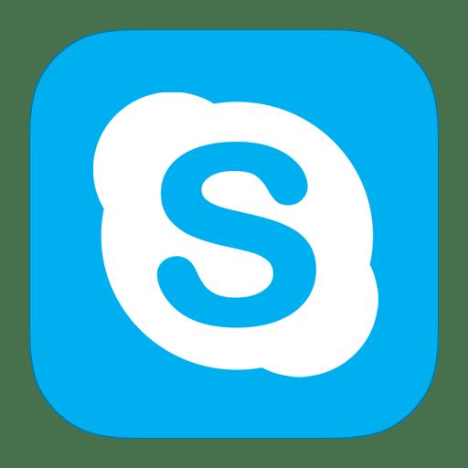 MetroUI-Apps-Skype icon