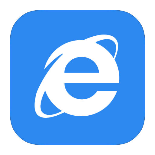 Metroui browser internet explorer 10 icon ios7 style Browser icon