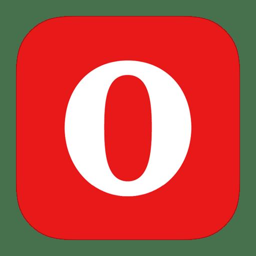 Metroui browser opera alt icon ios7 style metro ui Browser icon