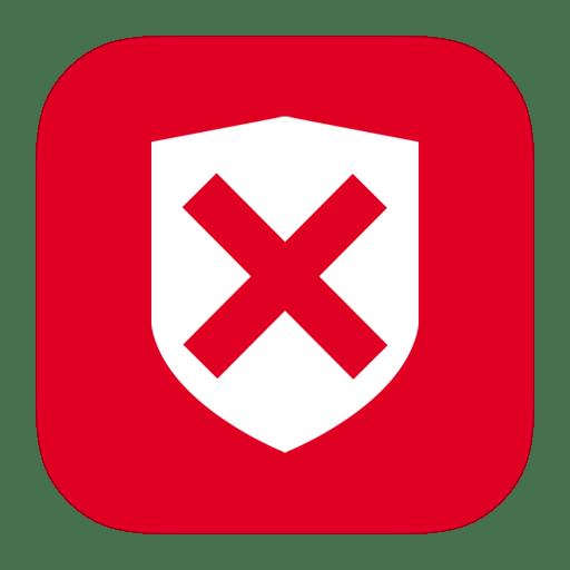 MetroUI-Folder-OS-Security-Denied icon