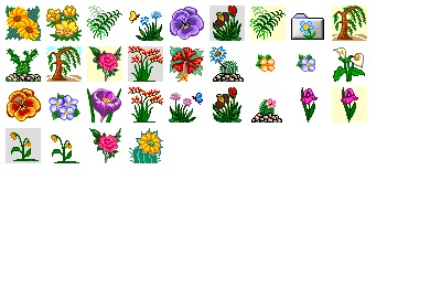 Flower 3 Icons