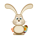 Easter Bunny RSS EGG icon