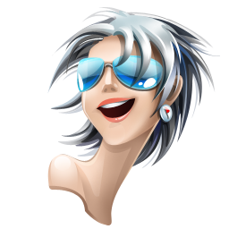 browser girl safari icon