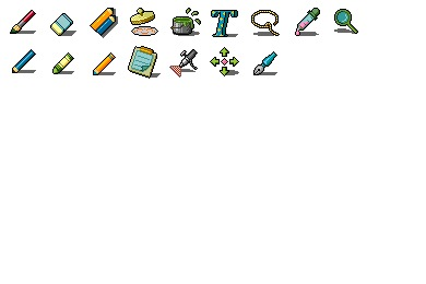 Painting Tools Icons