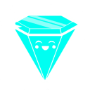 Rave Diamond blue icon