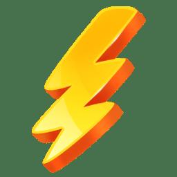 Shock rave icon