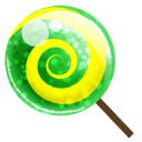 Candy green icon