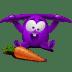 Violet-rabbit icon