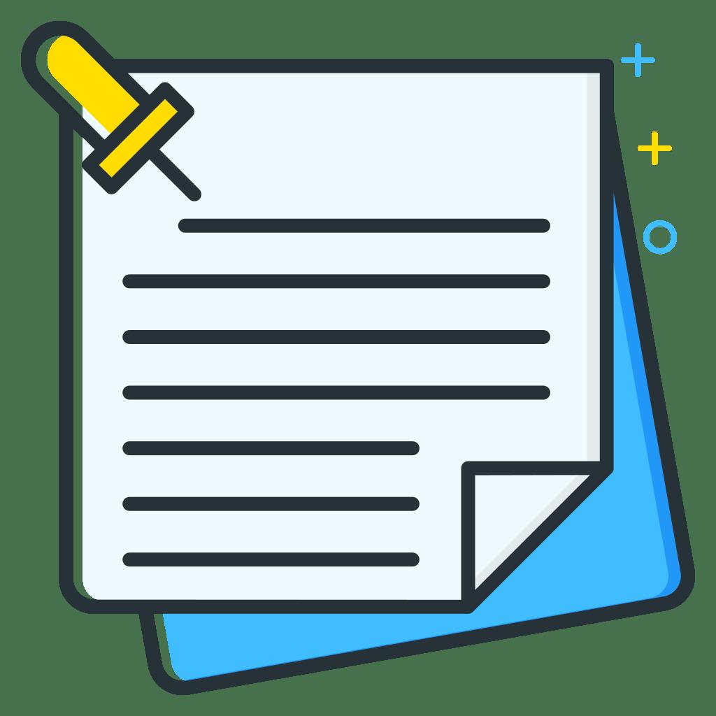 Notes Icon   Job Seeker Iconset   Inipagi Studio