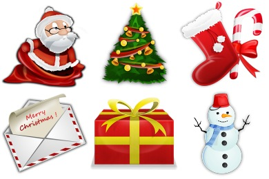 Christmas Theme Icons