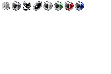 Cube And iMac Icons