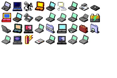 Power Book Mania Icons