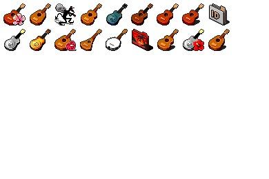Ukulele Icons