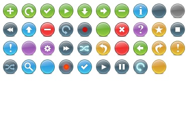 Knob Toolbar Icons