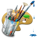 http://icons.iconarchive.com/icons/itzikgur/my-seven/128/Graphics-Painting-icon.png