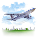 Travel Airplane icon