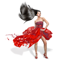 67d3d4915 Girls Red Dress Icon