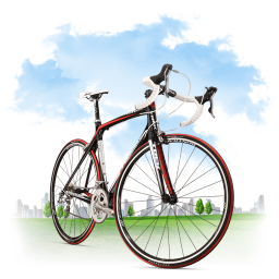 Travel Bicycle icon