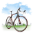 Travel-Bicycle icon